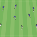 Dribbling Throughout A Grid