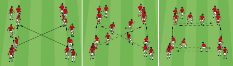 Square Passing Warm-Up