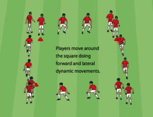 Square Dynamic Warm-Up